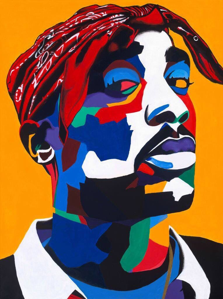 """2Pac Art by Otha """"Vakseen"""" Davis III"""