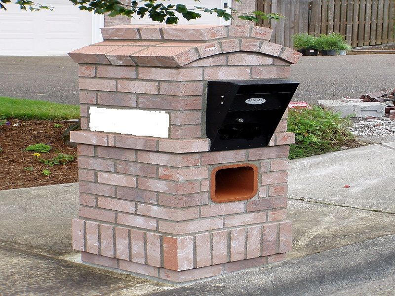 1000+ Images About Mailboxes On Pinterest | Mailbox Post, Brick