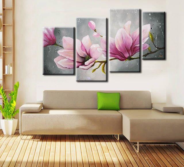 Resultado de imagen para cuadros tripticos para - Pinturas para dormitorios ...