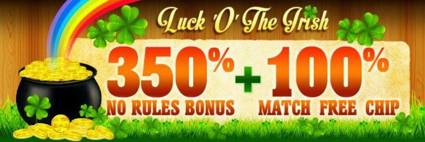 Casino Coupon Codes: Casino 350% No Restrictions Bonus + 100% Free Chip...