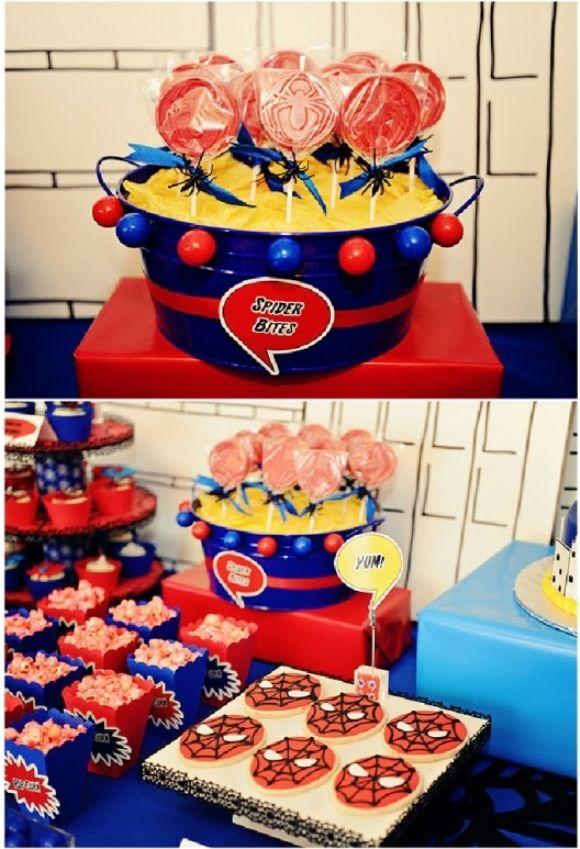 Boys Party Ideas Super hero birthday Ideas party and Party printables