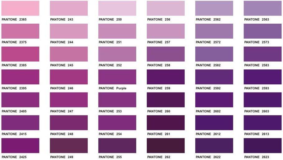 Purple Pantone Google Søgning