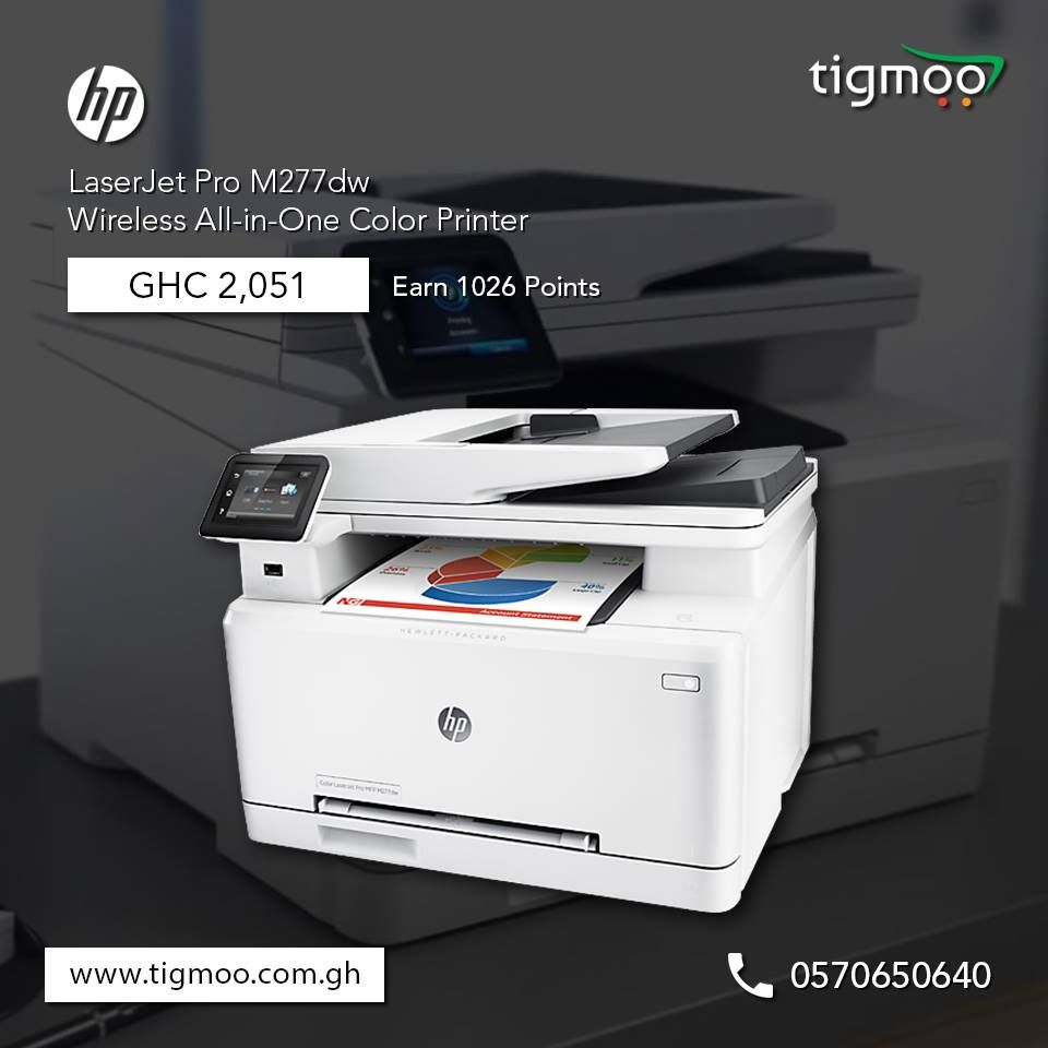 Color q online - Order Hp Laserjetpro M277dw Wireless All In One Color Printer Online At