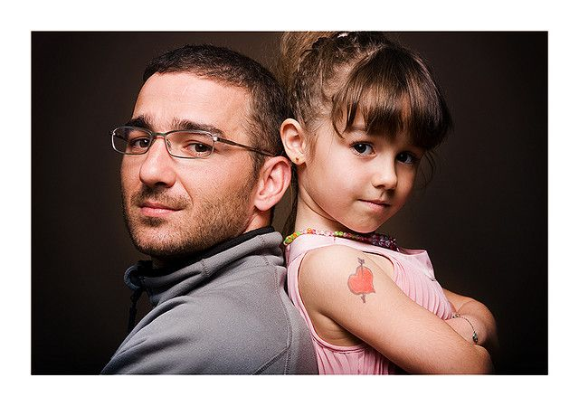 Father and daughter portrait by Nikolay76, via Flickr