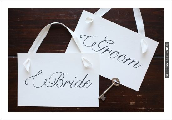 free printables, , Custom Wedding Signs, Signs, , Flourish Script