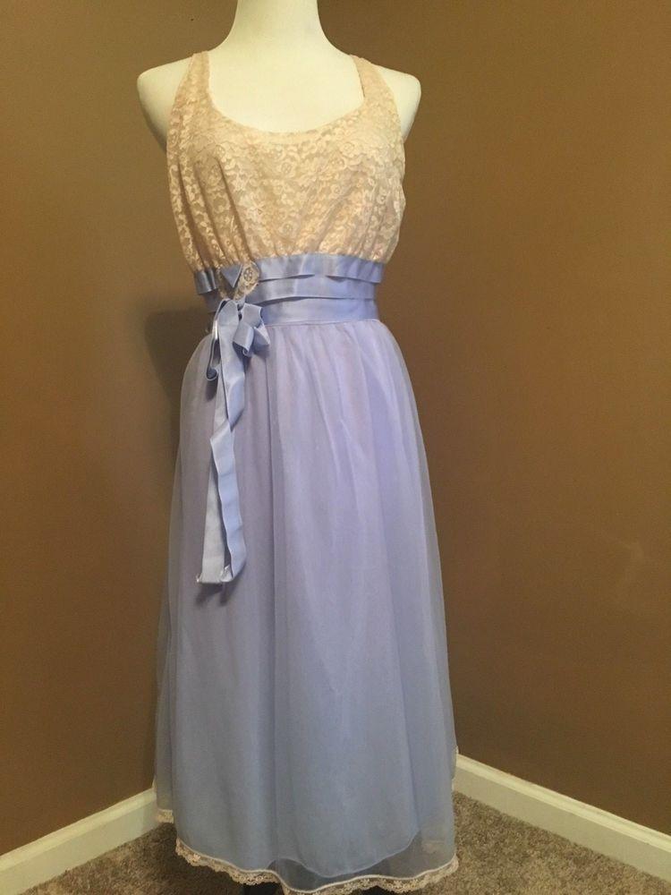 435e3683f0e Vintage Dress Chiffon Nightgown Radcliffe