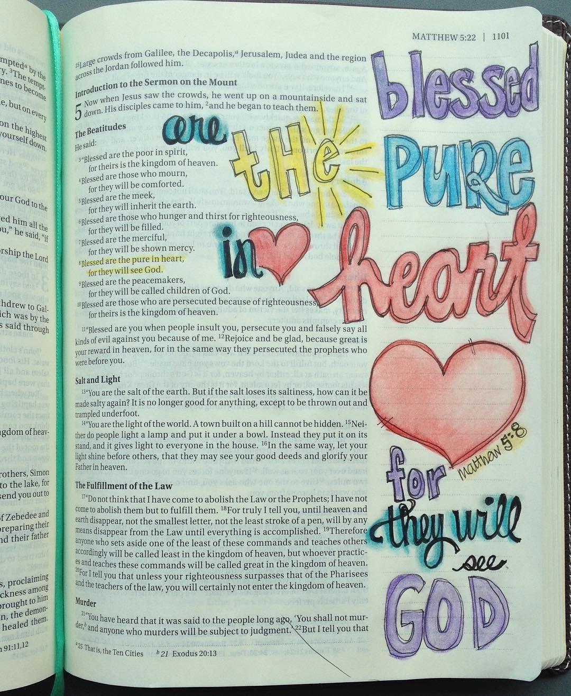 #Journalbible #isawipinnedidid #biblejournaling #illustratedfaith by kristiematthews