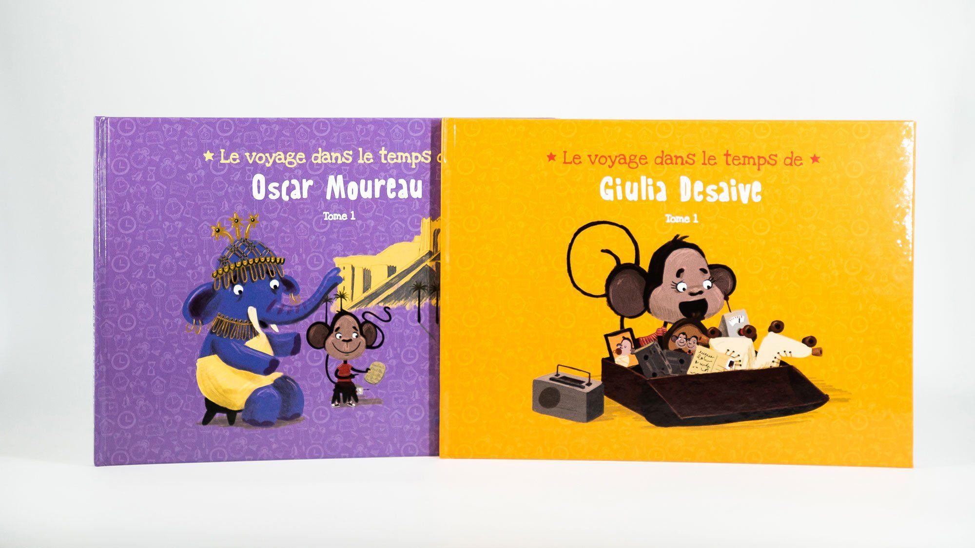Livre Personnalisable Le Voyage Dans Le Temps Voyage Dans Le