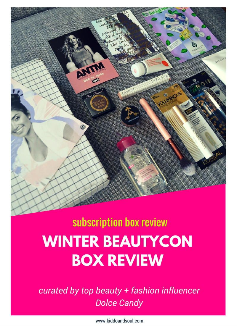 Winter Beautycon Box Review Plus 5 Off Beautycon
