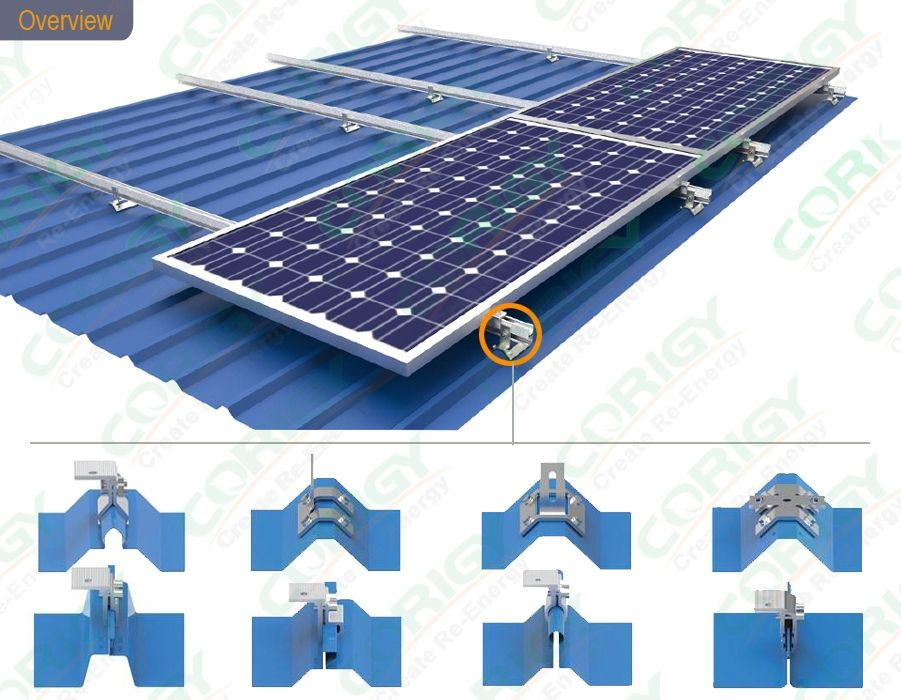Solar Panel Metal Roof Mounting Systems In 2020 Solar Panels Solar Roof Solar