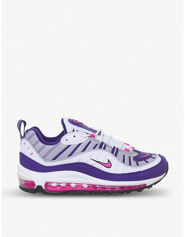 NIKE Air Max 98 leather trainers | Tenis