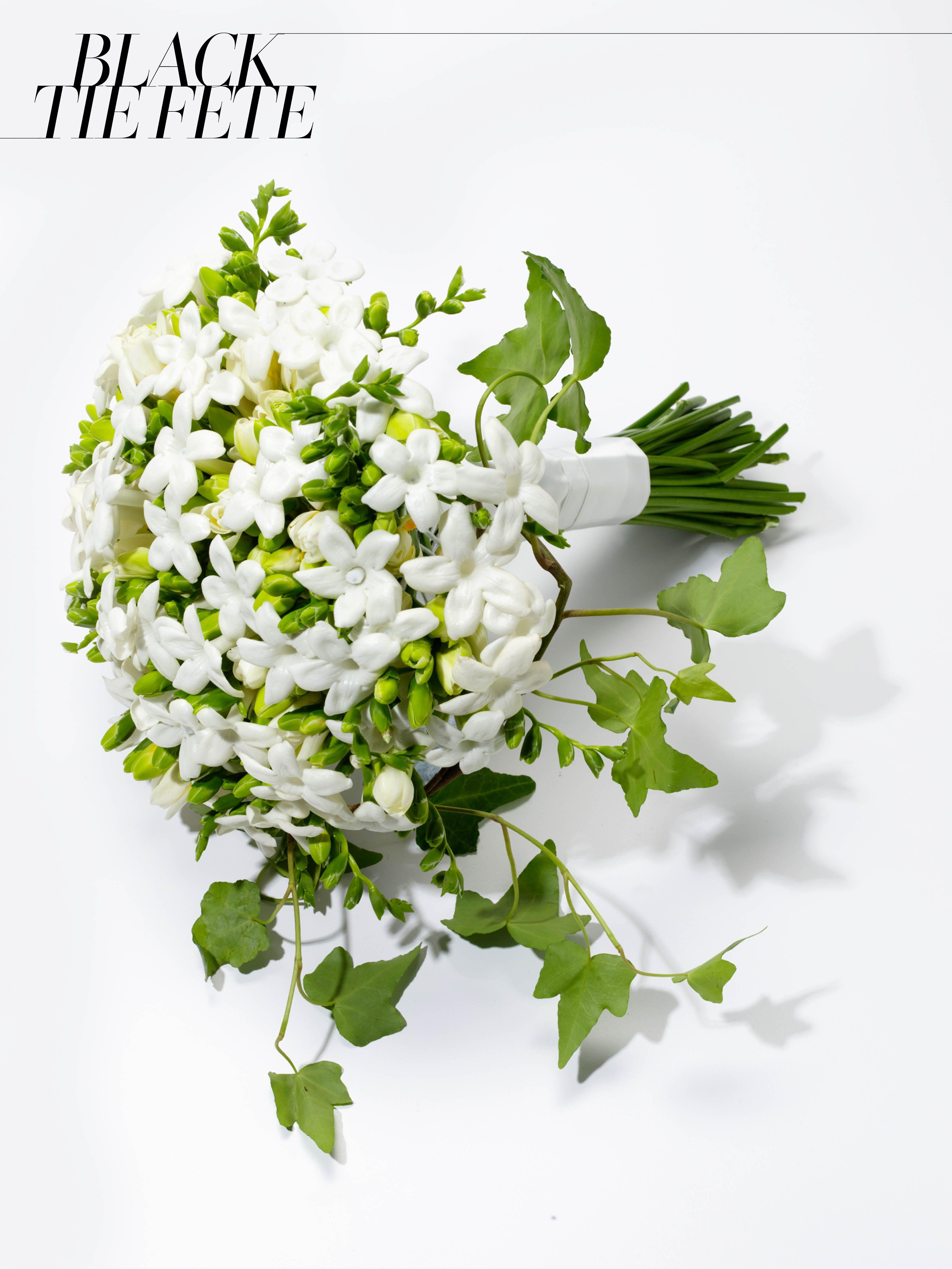 Jane Packer White Stephanotis And Freesia Bridal Bouquet 500For Information