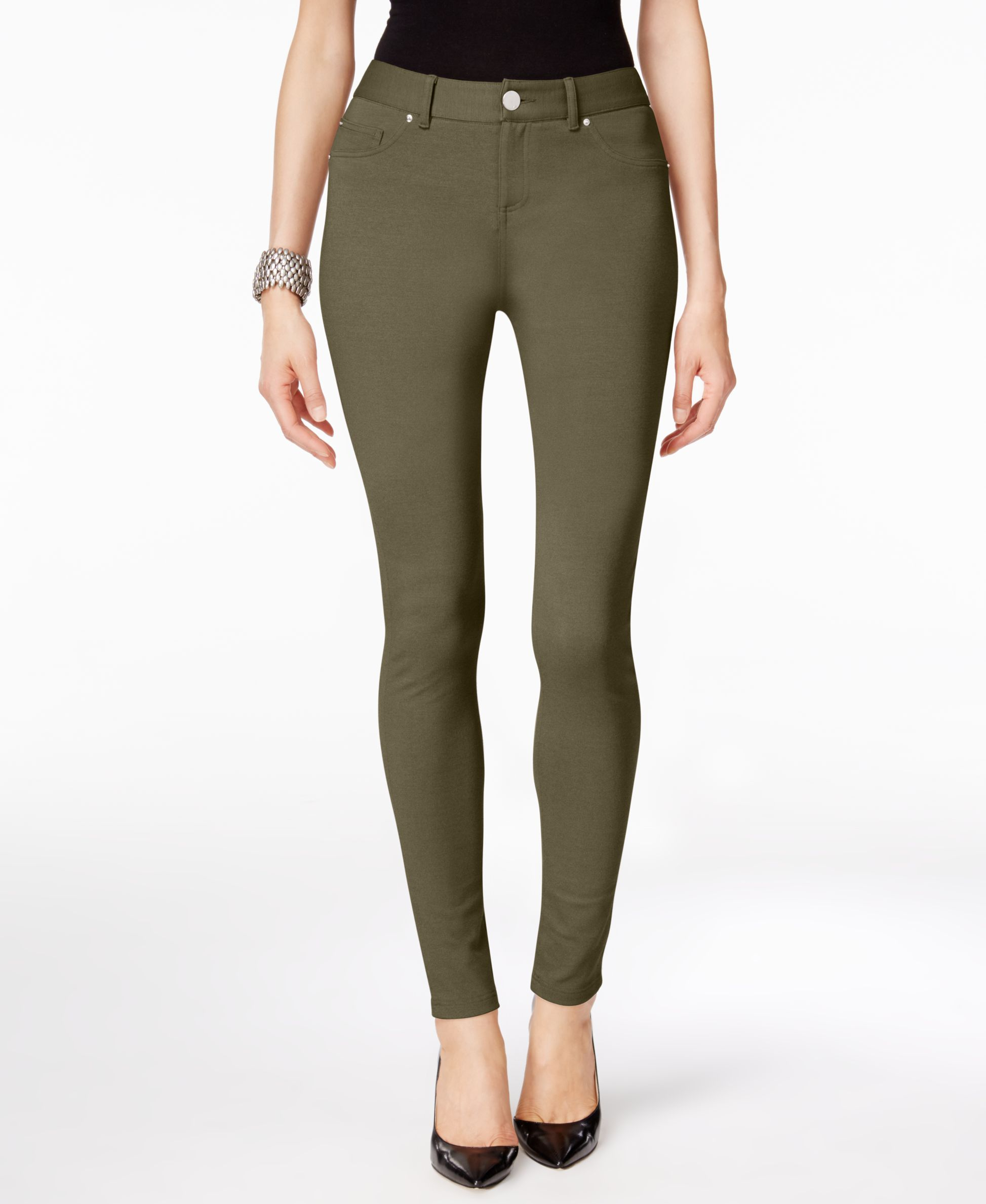 ac3a81f1fa97f Inc International Concepts Skinny-Fit Ponte Pants