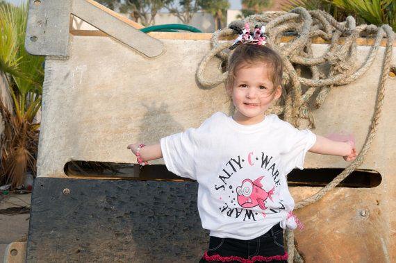 SaltyC Kid's short sleeve tshirt by SaltyCWare on Etsy, $19.99