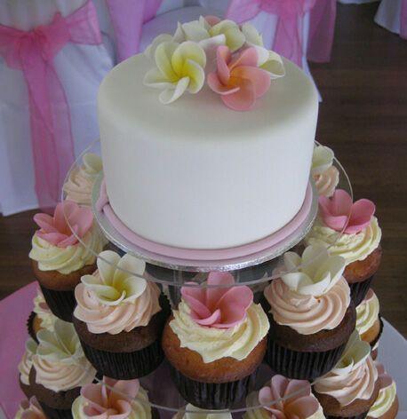 Frangipani cake