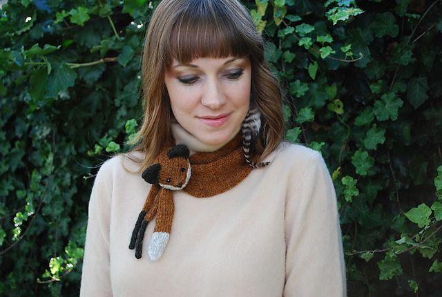 mr. fox stole my heart & mini-fox!  by tiny owl knits