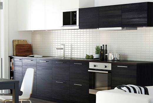 ikea kitchen wall cabinet jutis glass door ikea google search - Ikea Black Kitchen Cabinets