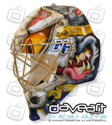 befb75ce28a The Great Pekka Rinne Goalie Mask
