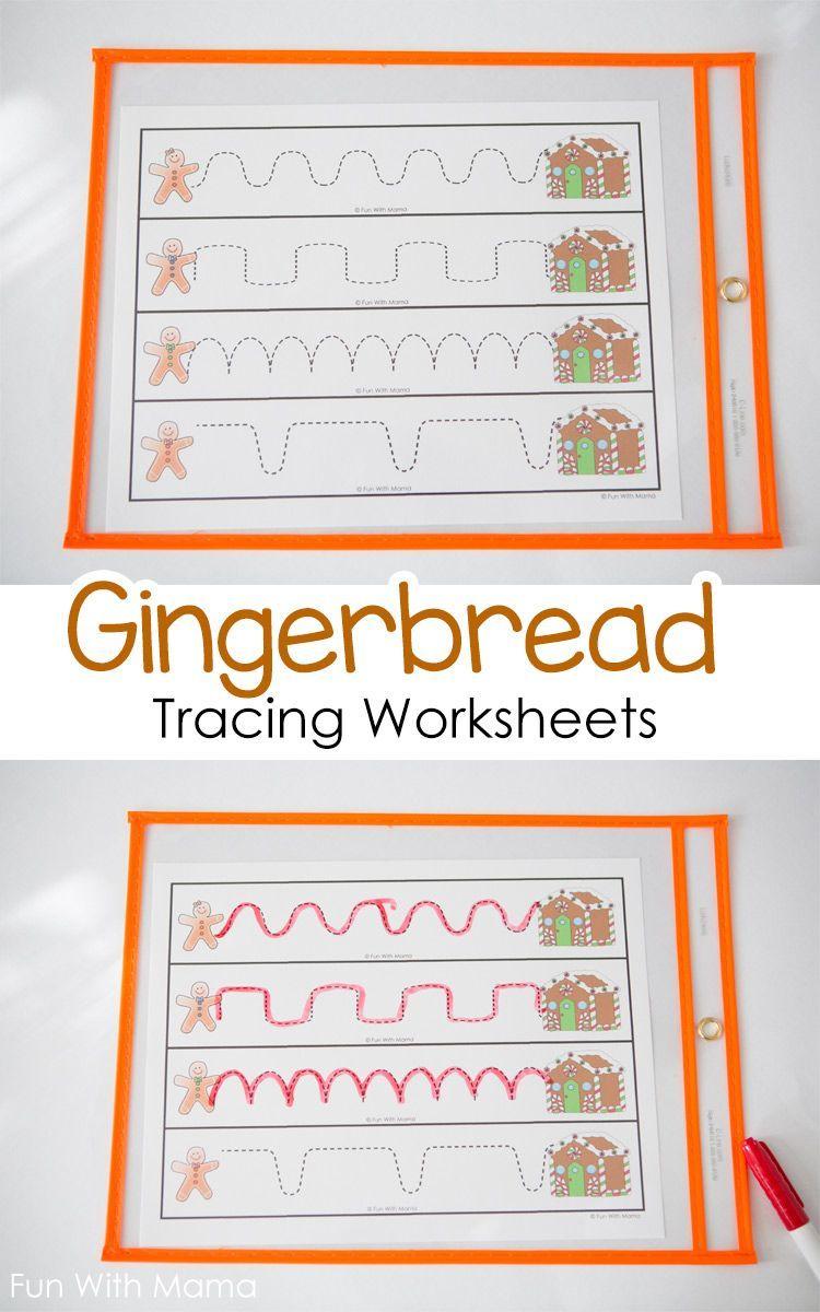 Gingerbread Tracing Worksheets Gingerbread Preschool Pre Writing Activities Prewriting Worksheets Pre Writing [ 1200 x 750 Pixel ]