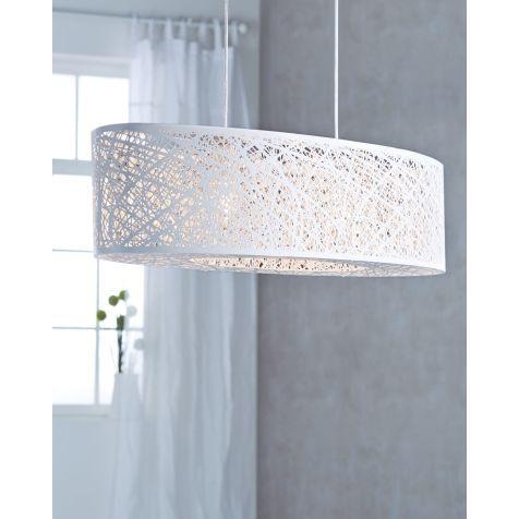 Deckenleuchte Grate, modern, Metall Glas, Breite ca 80 cm - deckenleuchten wohnzimmer modern