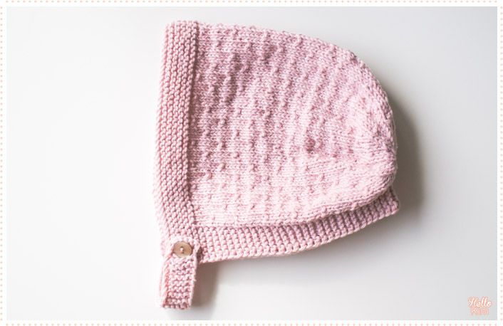 3a4762abffb9 Tricot layette Le bonnet pour bébé « Hello Kim !   Tricot ...