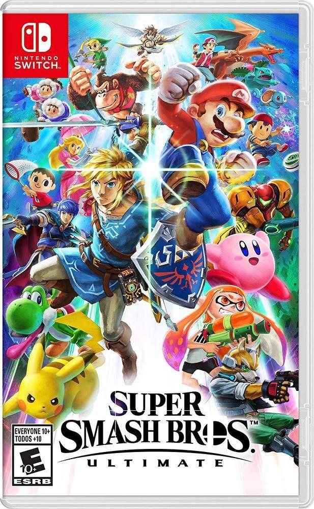 Super Smash Bros Ultimate Nintendo Switch New