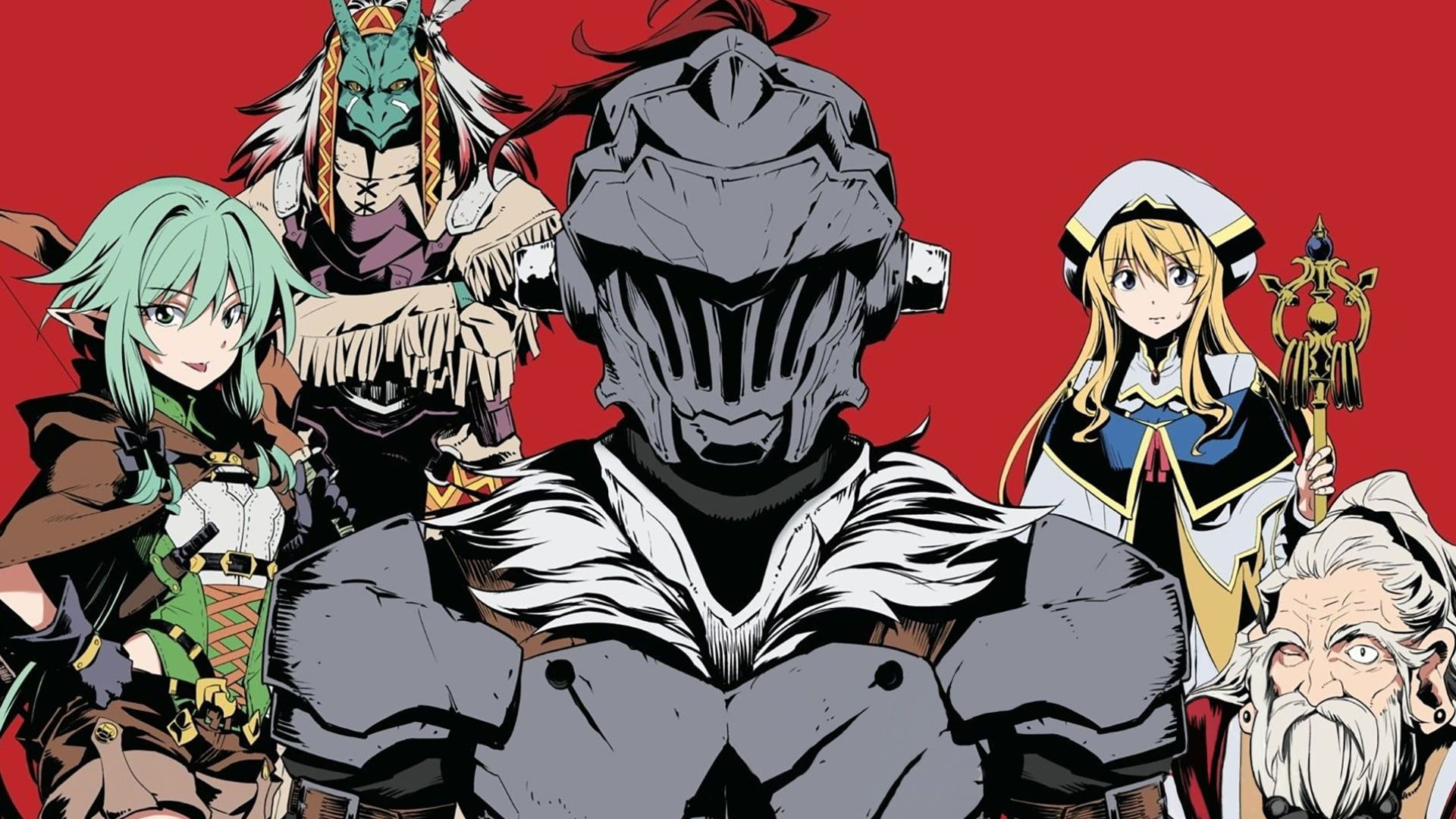 Anime Goblin Slayer 1080p Wallpaper Hdwallpaper Desktop Anime Cover Wallpaper Goblin