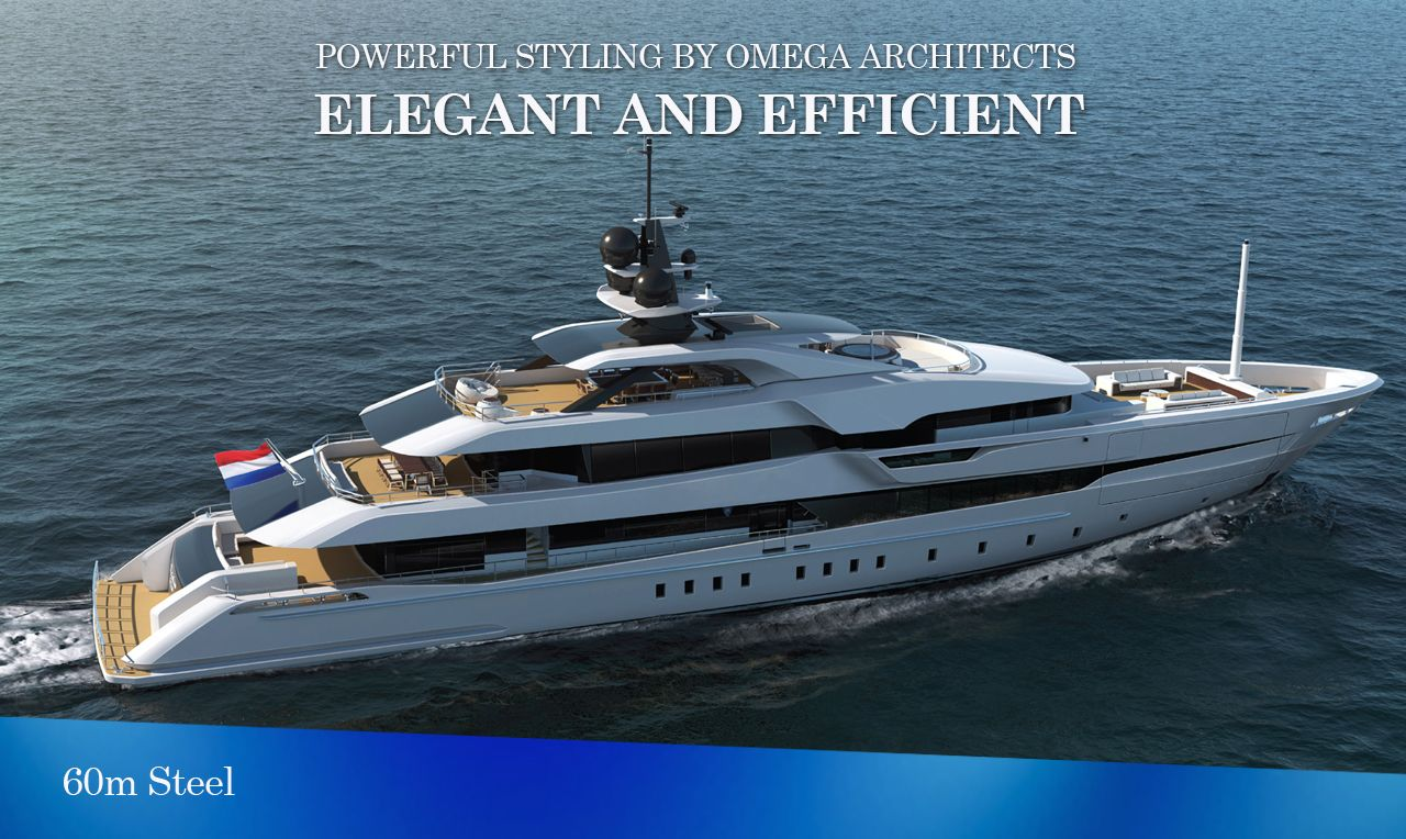 With graceful yet powerful exterior styling by Omega