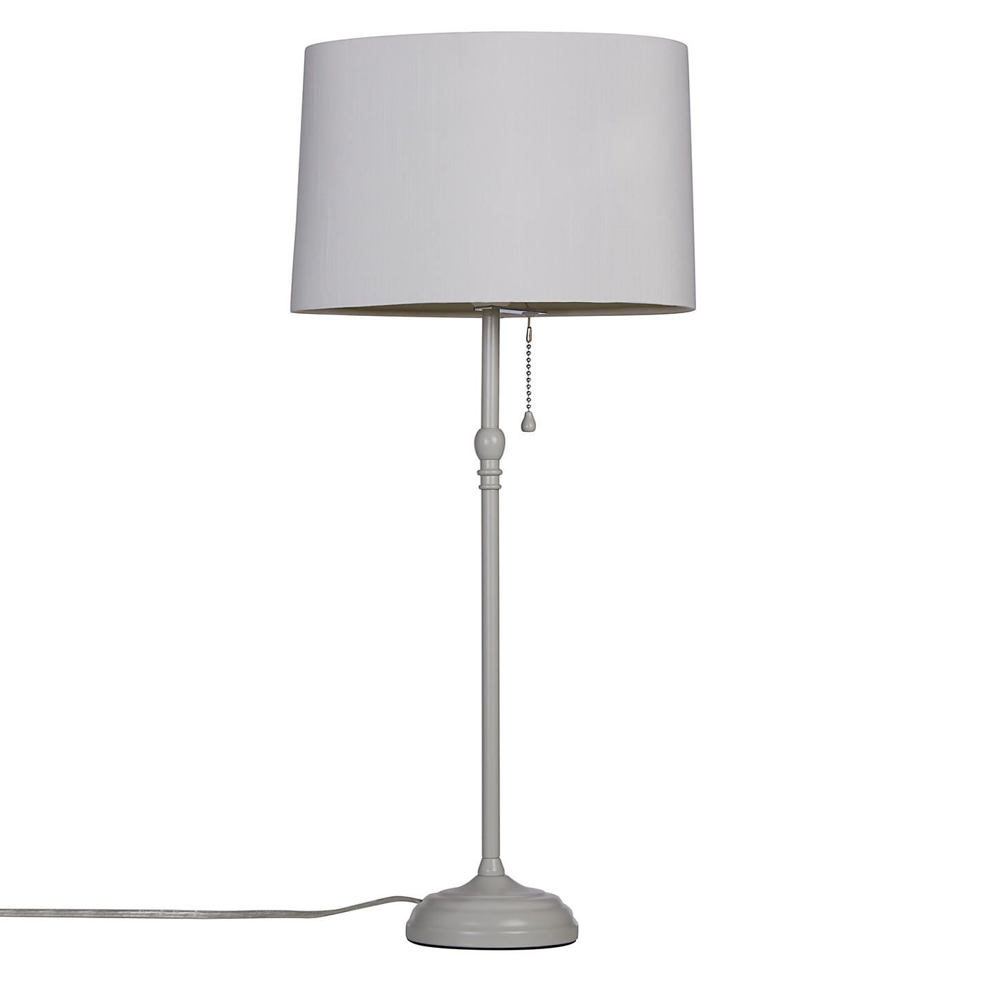 Image result for grey table lamp hallway pinterest grey table buy john lewis isabel table lamp from our desk table lamps range at john lewis aloadofball Choice Image