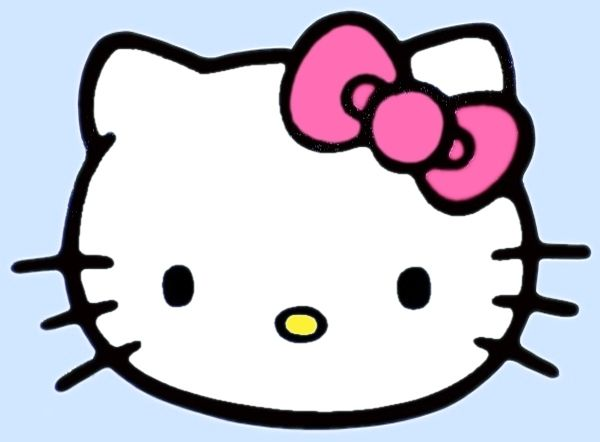 I Like Big Bows: Hello Kitty hair clip tutorial | Merlinsis2001 ...