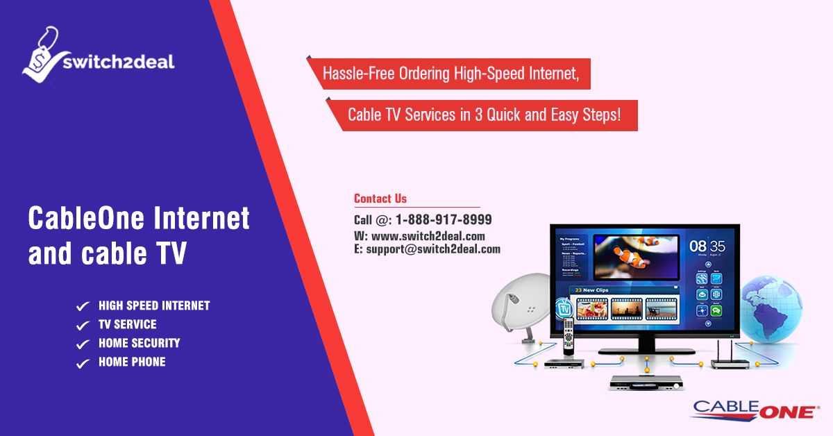 Get Cableone Cable Tv Internet Packages With Us At Switch2deal Visit Https Www Switch2deal Com Internet Wifi Cab Cable Tv Tv Providers Internet Call