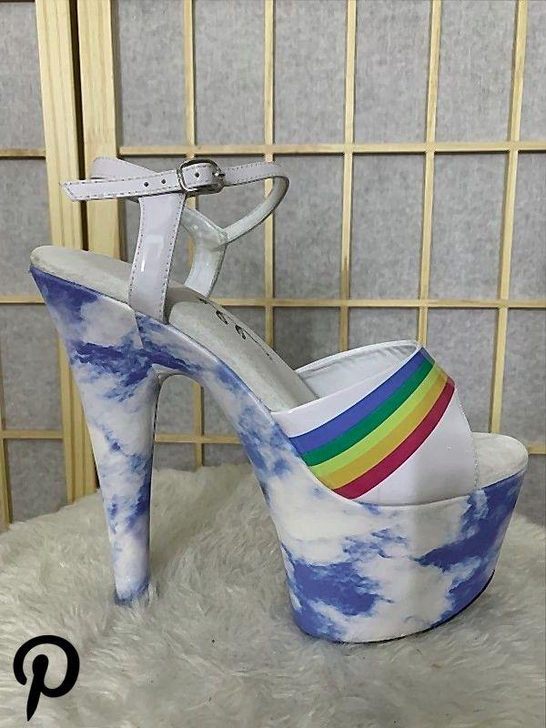 Cloud  Rainbow 4 inch heels Cloud  Rainbow 4 inch heels