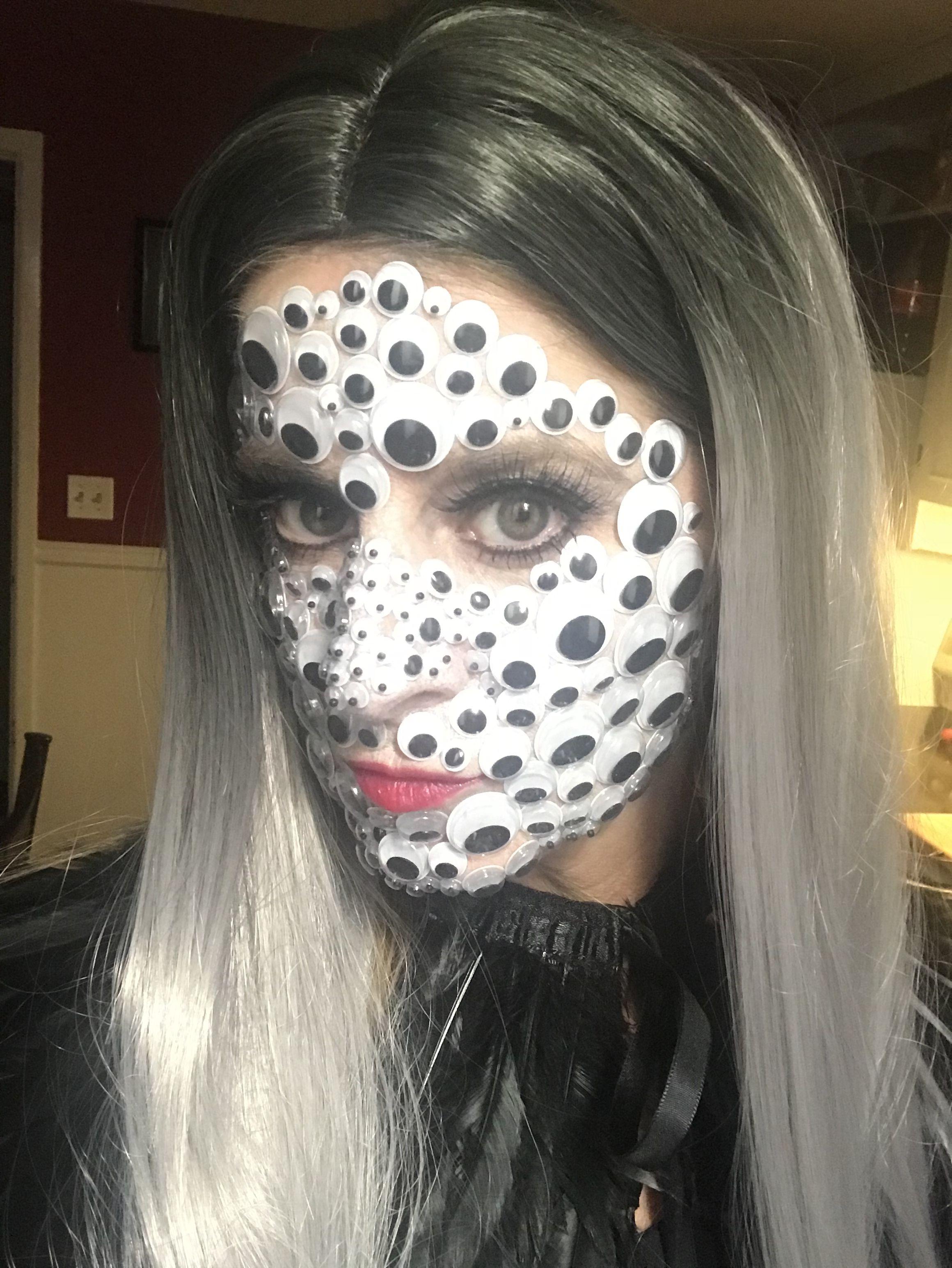 Googly Eyes Halloween Halloween Face Makeup Face Makeup Halloween Face