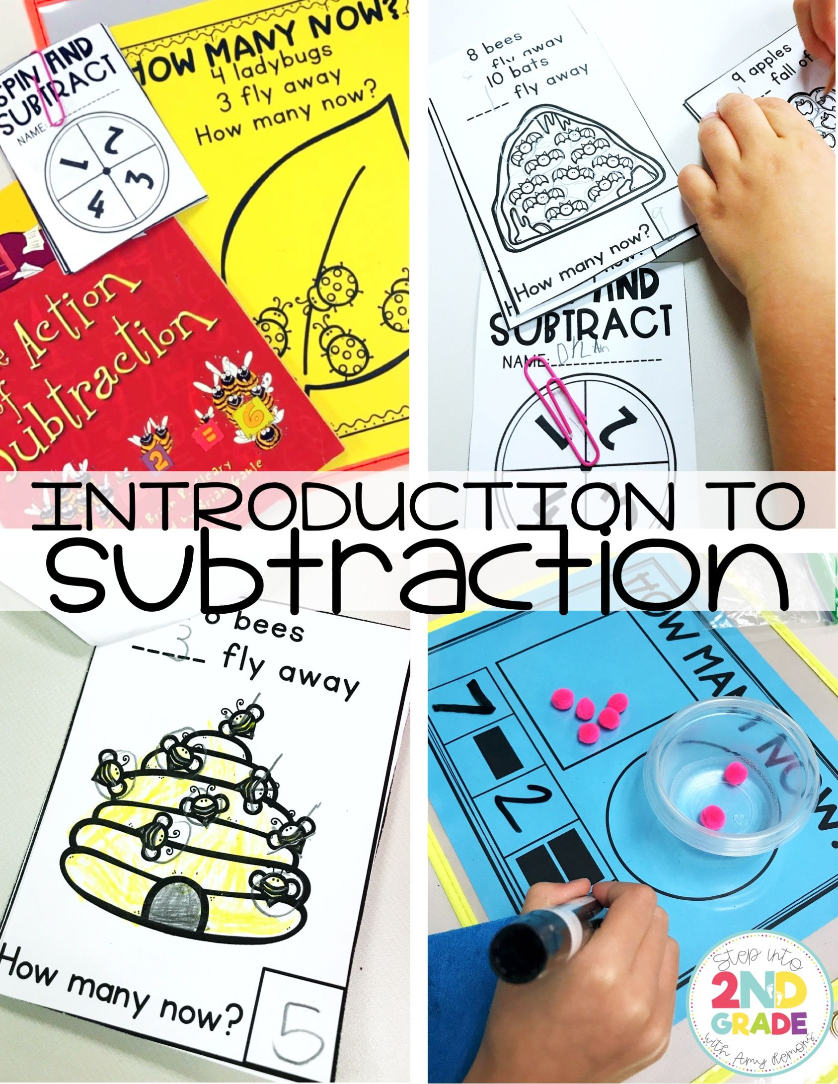 Introducing Subtraction And A Chant Step Into 2nd Grade
