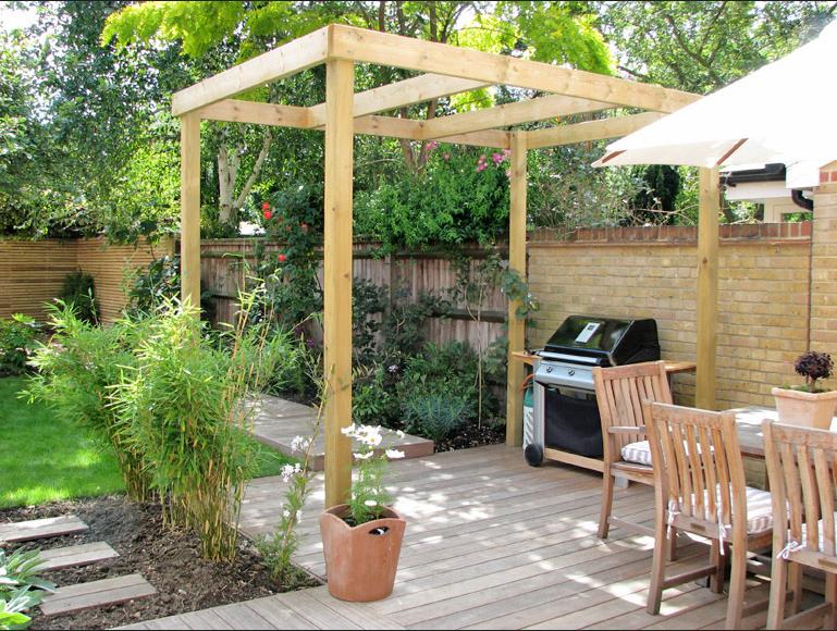 Desain Taman Belakang Rumah Backyard Garden Design Small Garden