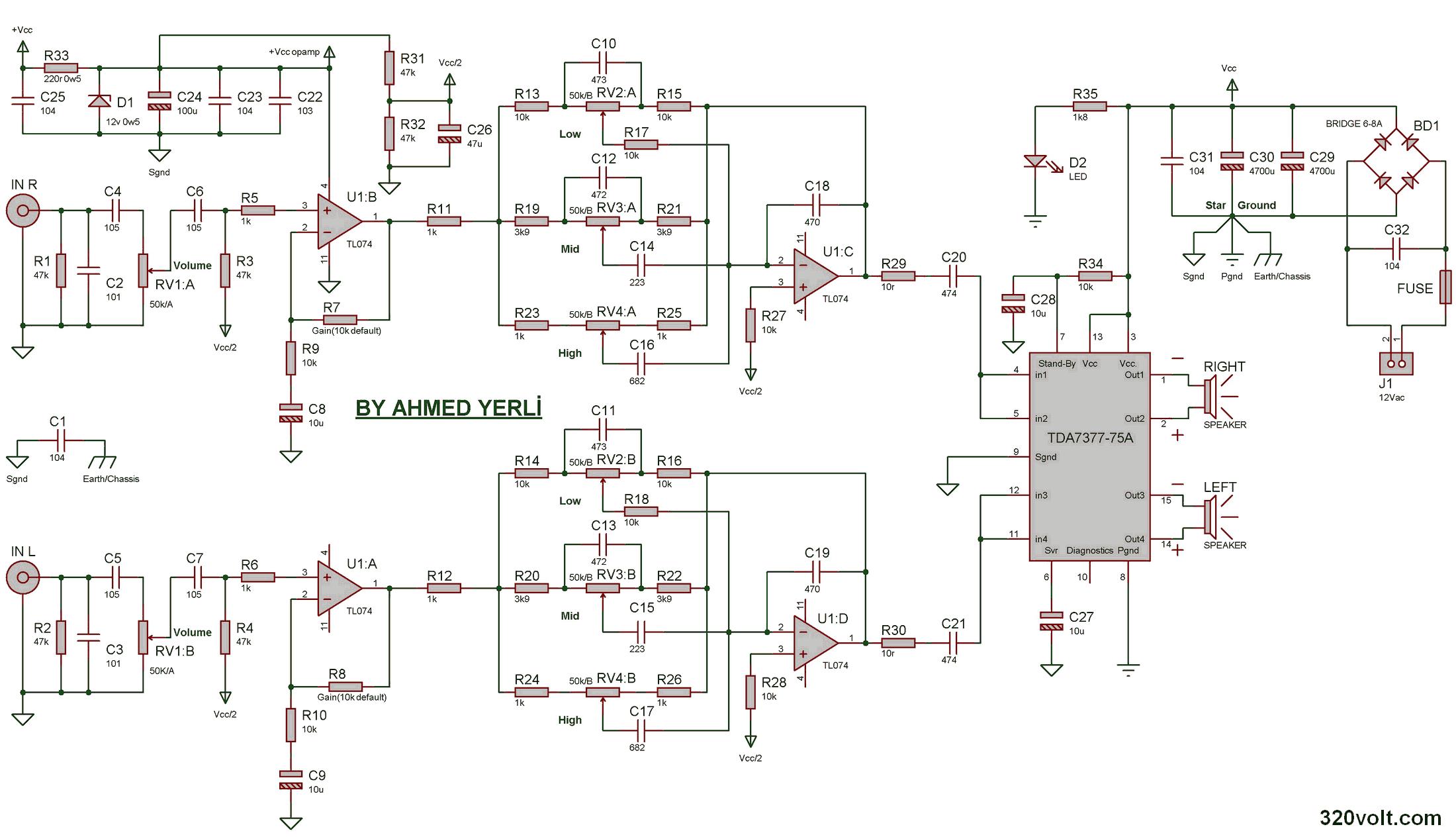Pin By Tushar Khambhayta On Car Audio Amplifier Pinterest Circuit Diagram For