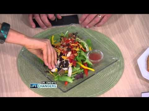 Dr. Drew and Lifechanger/Registered Dietician Rachel Beller walk you through low calorie meals for the whole day with a price tag of around 10 bucks for all of it! source