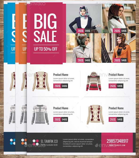 Cool  Nice Product Sale Flyer Templates  Graphic Design