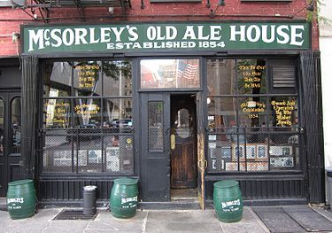 Where To Drink In Nyc Every Night Of The Week Old Ale Irish Bar East Village