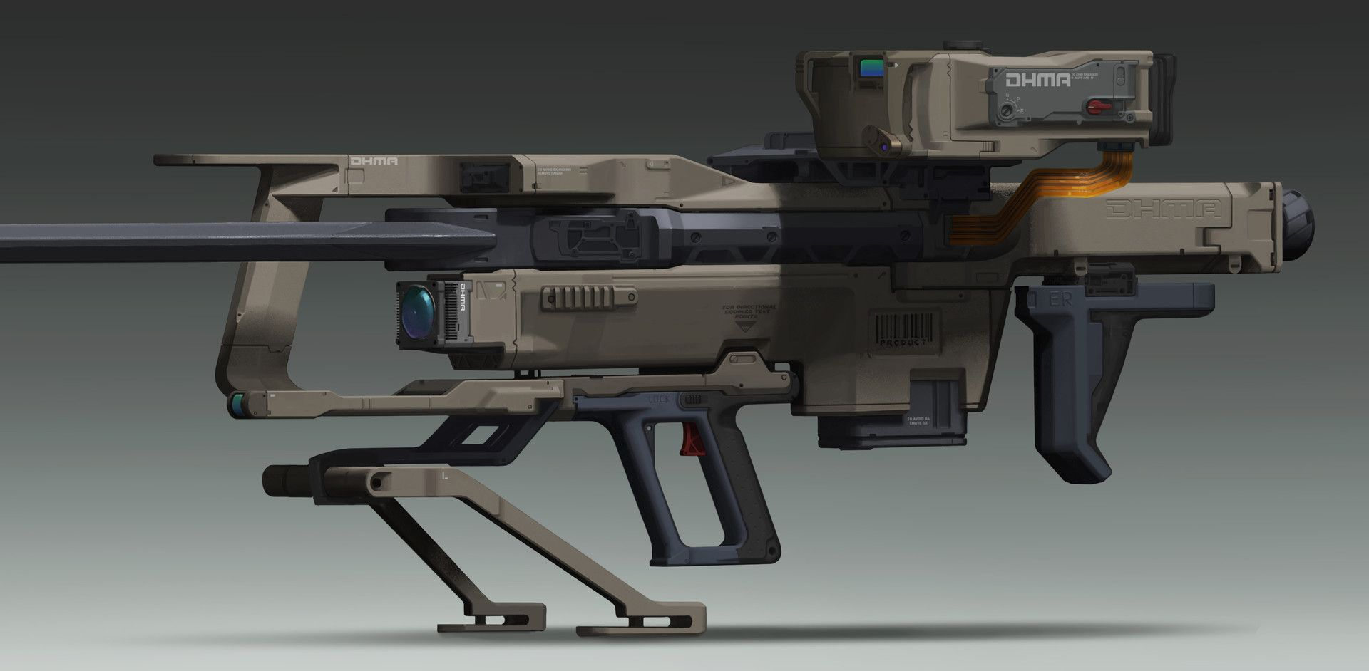 Anti Materiel Rifle pin on cg art