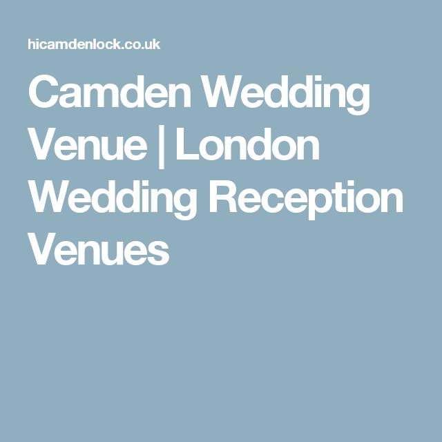 Camden Wedding Venue | London Wedding Reception Venues