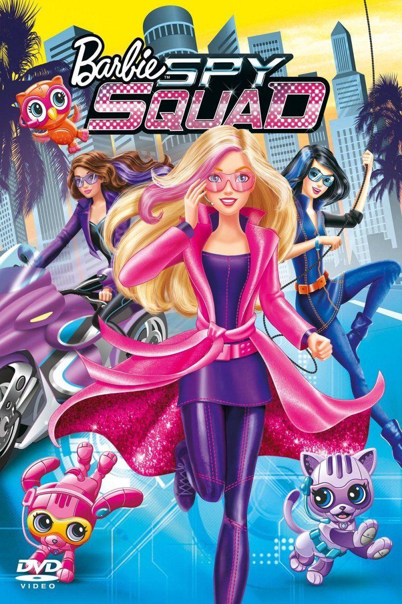Barbie Equipo De Espias 2016 Barbie Escuadron Secreto Peliculas De Barbie Barbie Dibujos