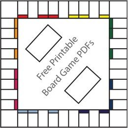 Free Printable Board Game Templates  Early Finishers
