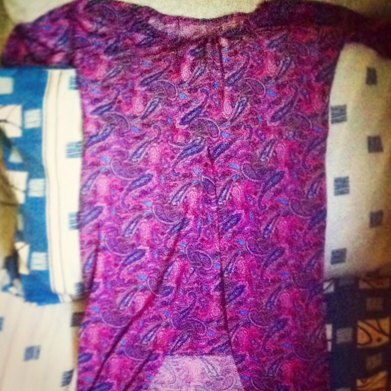 it's first time, my design dress.