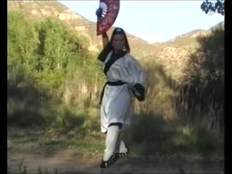 Tai Chi Taiji Kung Fu Fan 56 Li  Deyin by Paty -lee