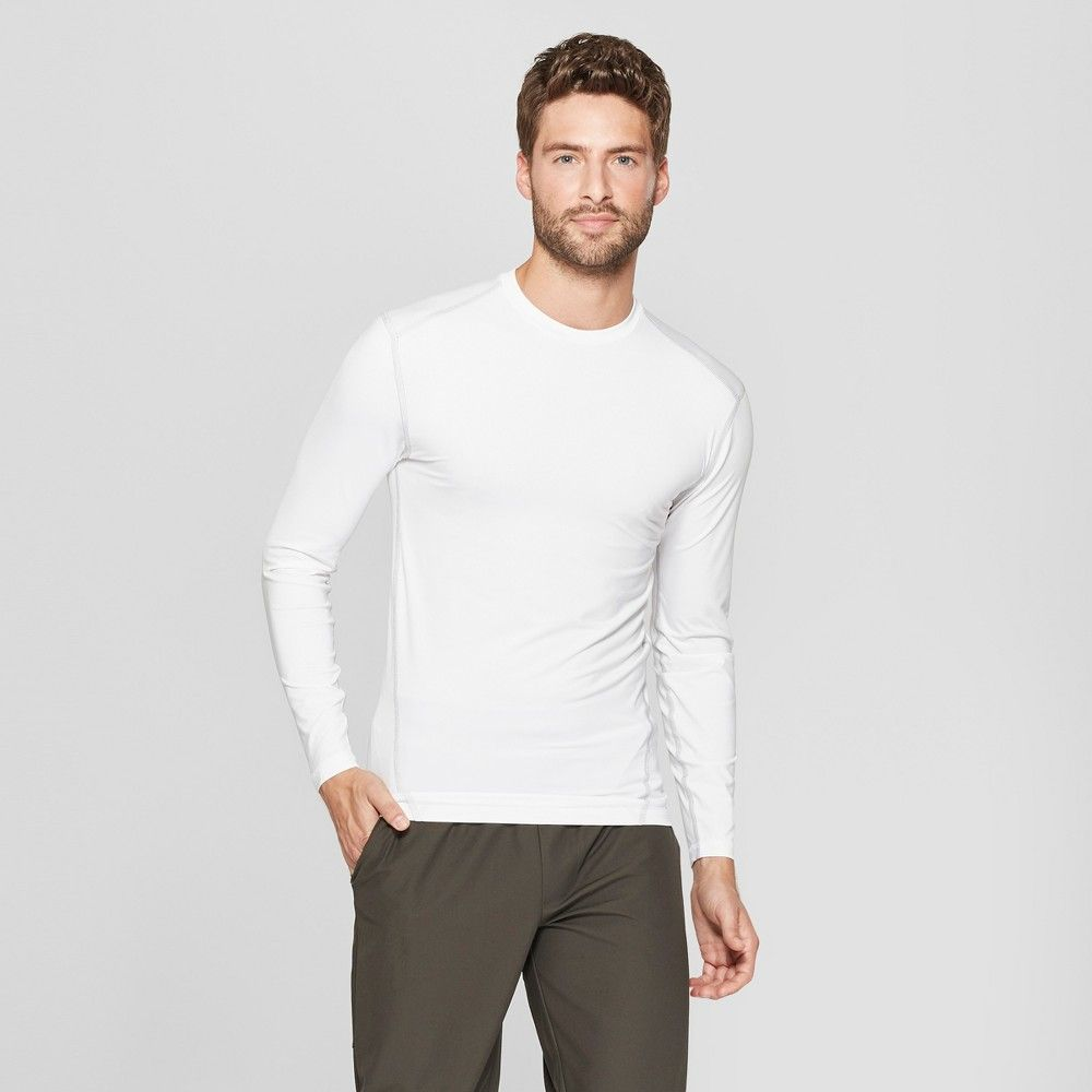 3b126442 The Men's Power Core Compression Long Sleeve T-shirt from C9 Champion  provides a supportive fit and sweat wicking fabric that dries fast for a  comfortable ...