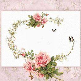 MI BAUL DEL DECOUPAGE rosas