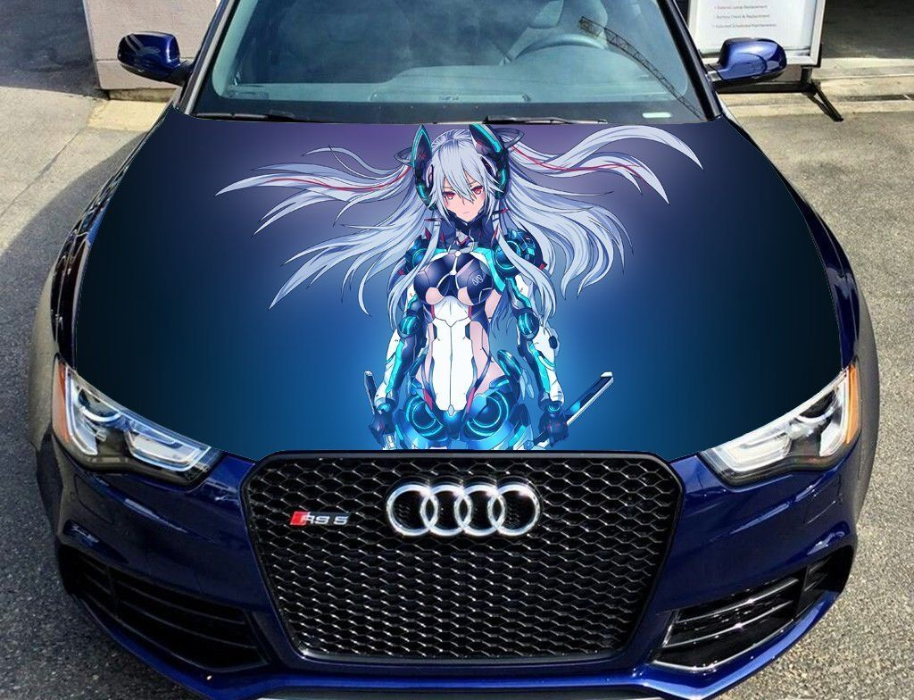 Amazon Com Full Color Sticker Anime Car Hood Vinyl Sticker Car Vinyl Graphics Decal Wrap Car Hood Graphics Fit Any Car Vinyl Graphics Vinyl Graphics Car [ 784 x 1024 Pixel ]