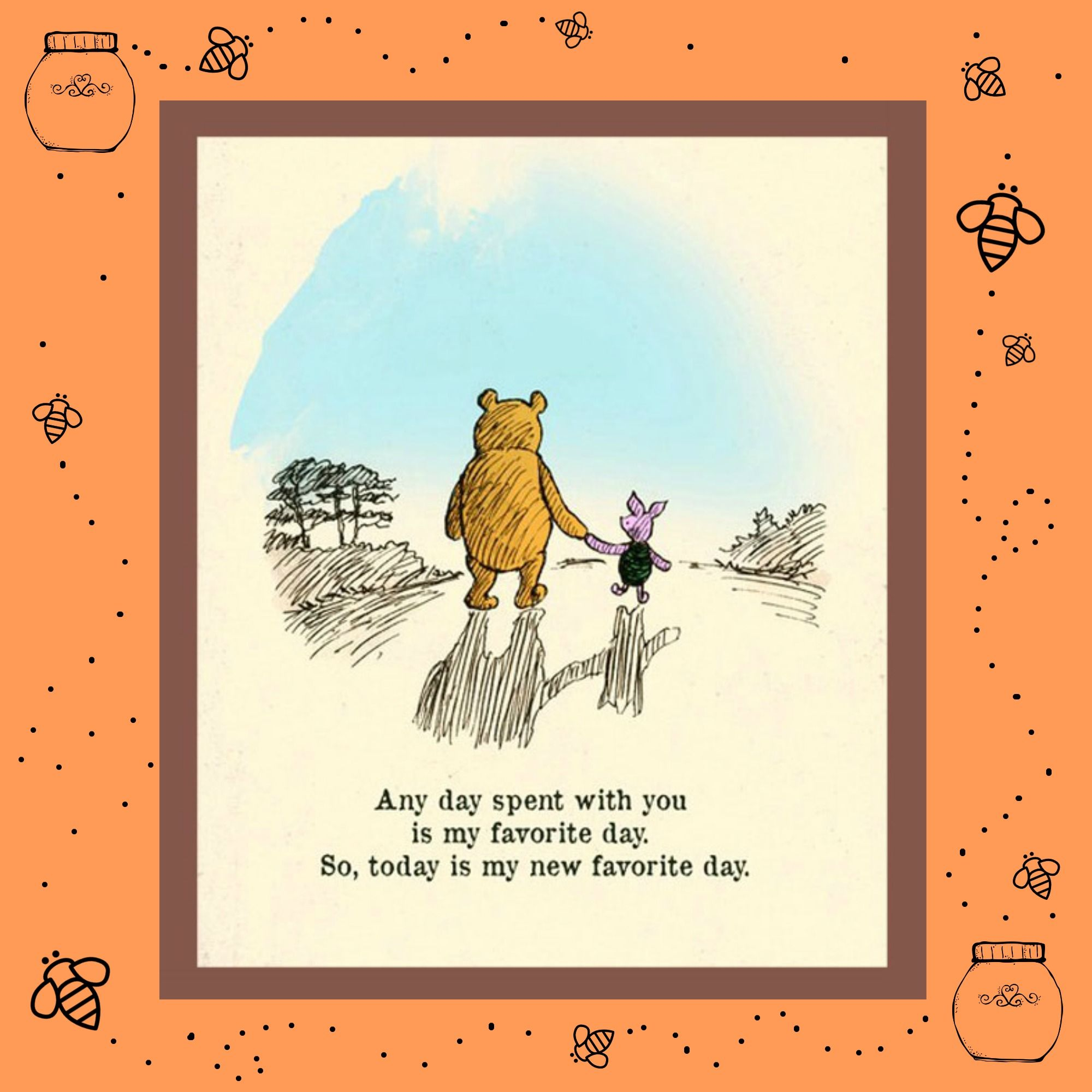 Piglet And Winnie The Pooh Quotes: Pooh Bear Walking With Piglets - Google Zoeken