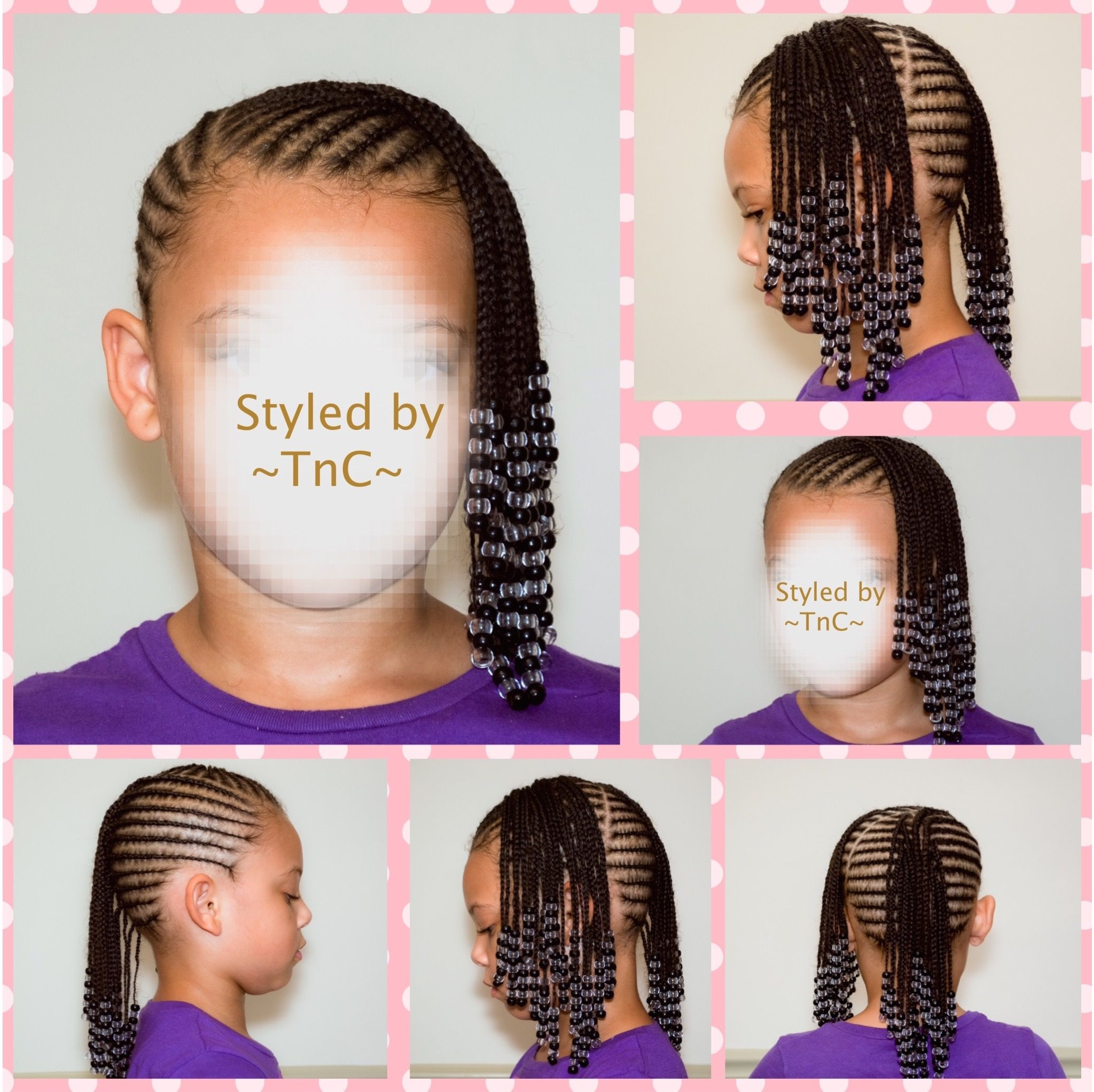 Cute braid hairstyle for kids ~TnC~ #kidsbraids ...